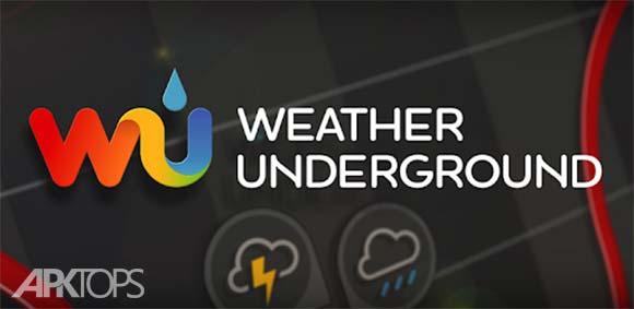 Weather Underground: Forecasts دانلود برنامه پیش بینی اب و هوای اندرگروند