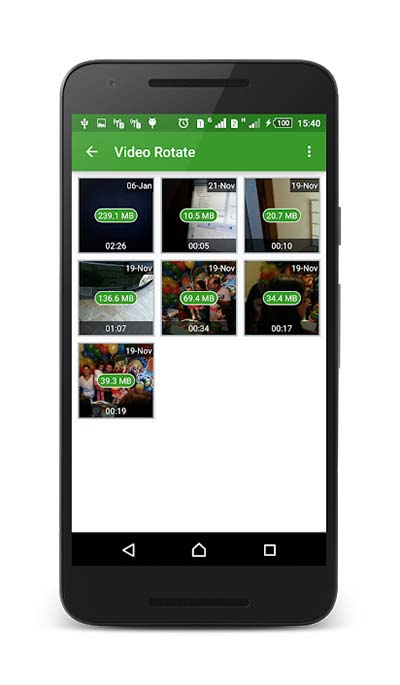Video Rotate Tool v2.0.0 دانلود برنامه ابزار چرخش ویدئو