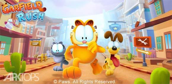 Garfield Rush دانلود بازی دویدن گارفیلد