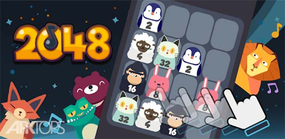 2048 BEAT: Make music دانلود بازی 2048 با بیت موسیقی