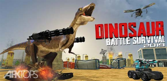 Dinosaur Battle Survival 2019 دانلود بازی نبرد زنده ماندن دایناسور2019
