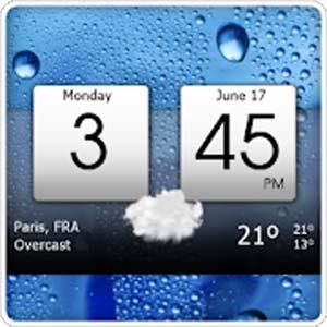 Digital clock weather v5.21.03 دانلود برنامه ساعت دیجیتال و هواشناسی
