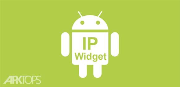 IP Widget دانلود برنامه ویدجت نمایش دهنده ای پی