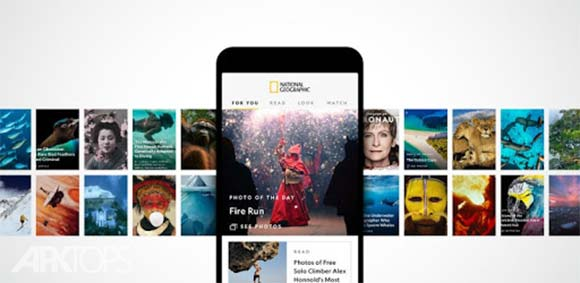 National Geographic دانلود برنامه رسمی نشنال جئوگرافی