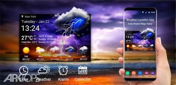 Accurate Weather Report Pro دانلود برنامه گزارش دقیق هواشناسی