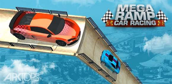 Mega Ramp Car Racing: Impossible Tracks 3D دانلود بازی مسابقه در رمپ های بزرگ