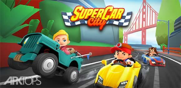 SuperCar City دانلود بازی شهر ماشین بزرگ