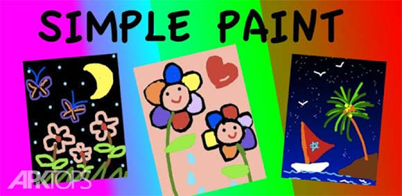 Simple Paint دانلود برنامه نقاشی ساده کودکان
