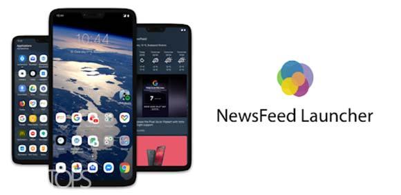NewsFeed Launcher دانلود برنامه لانچر فید های جدید