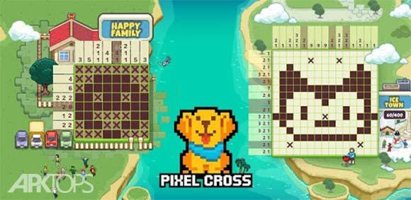Pixel Cross™-Nonogram دانلود بازی چیدمان پیکسل ها