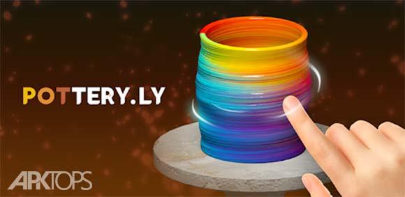 Pottery.ly 3D – Relaxing Ceramic Maker دانلود بازی کوزه گری