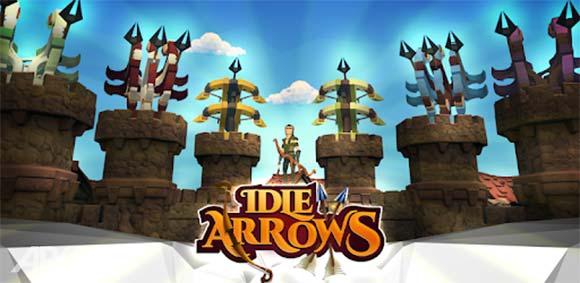 Idle Arrows دانلود بازی کلیکی کمانداران