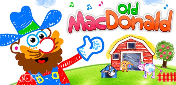 Old Macdonald had a farm Drawing games for kids دانلود بازی نقاشی کودکان در مزرعه قدیمی مک دونالد