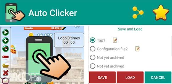 Auto Clicker pro - Tapping دانلود برنامه لمس خودکار صفحه