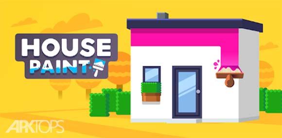 House Paint دانلود بازی رنگ امیزی خانه