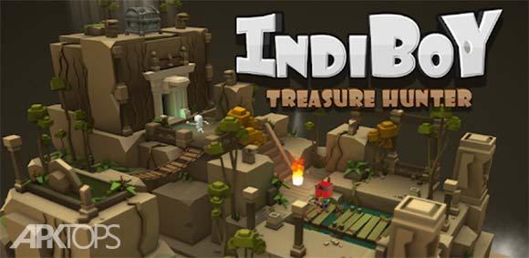 IndiBoy - Treasure hunter دانلود بازی ایندی بوی شکارچی گنجینه