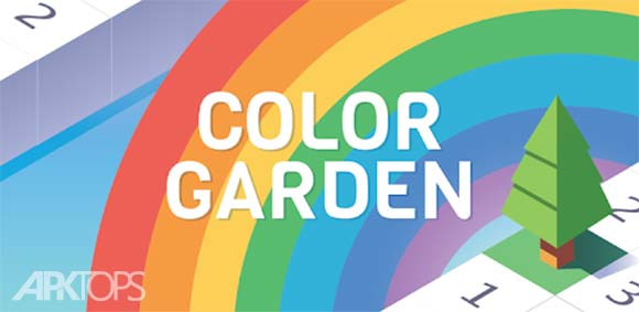 Color Garden - Build by Number دانلود بازی رنگ امیزی باغچه