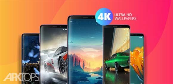 Wallpapers Ultra HD 4K دانلود برنامه تصاویر با کیفیت پس زمینه