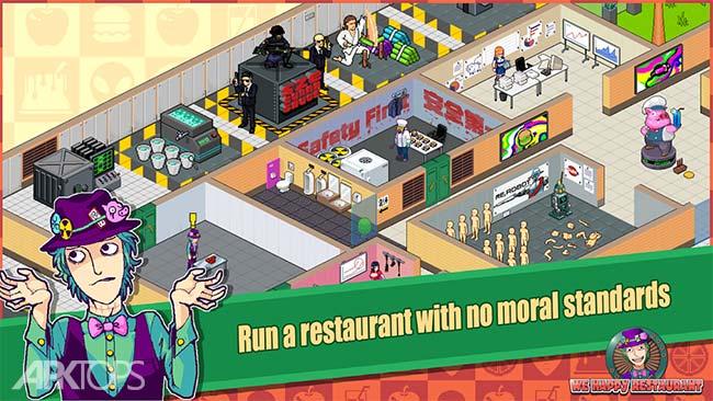 We Happy Restaurant v2.5.4 دانلود بازی رستوران شاد ما