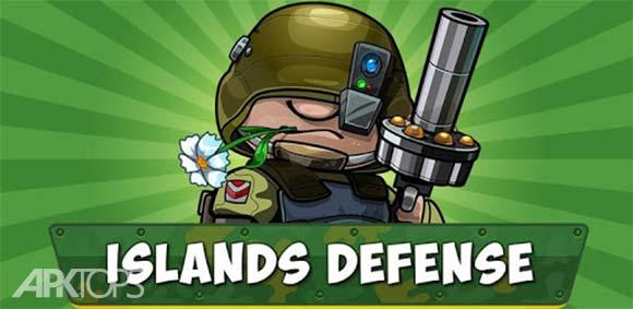 Island Defense: Offline Tower Defense دانلود بازی دفاع از جزیره