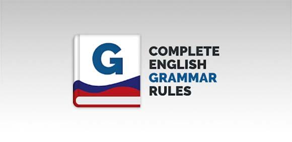 Complete English Grammar Rules دانلود برنامه قوانین گرامر انگلیسی