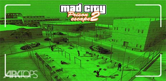 Prison Escape 2 New Jail Mad City Stories دانلود بازی فرار از زندان2 داستان های زندان جدید شهر