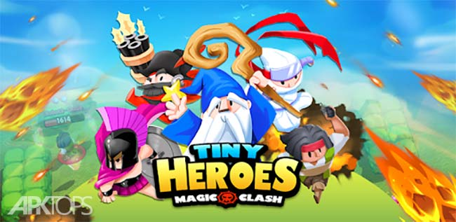 Tiny Heroes - Magic Clash دانلود بازی قهرمانان کوچک