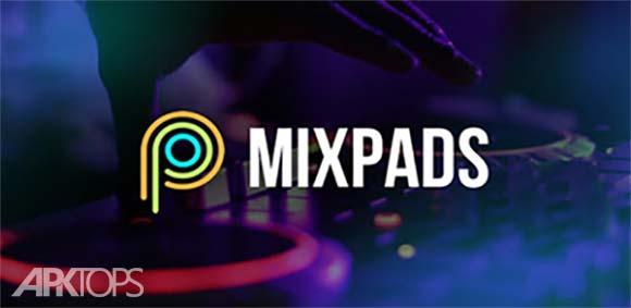 MixPads - Drum pad & DJ Audio Mixer دانلود برنامه درام پد و ترکیب کننده ی صدا های دی جی