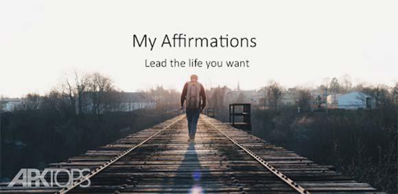 My Affirmations: Live Positive دانلود برنامه ساخت ذهن برای موفقیت
