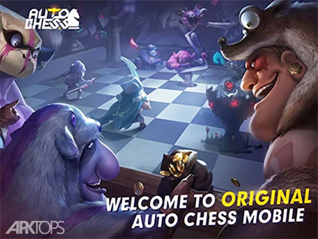 Auto Chess v0.4.0 دانلود بازی شطرنج خودکار + مود اندروید
