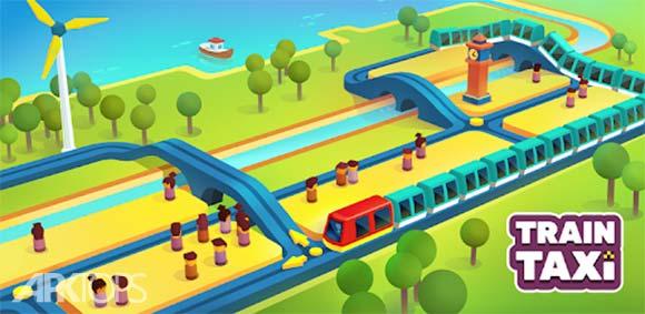 Train Taxi دانلود بازی قطار تاکسی