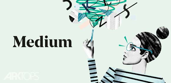 Medium دانلود برنامه مطالب و مقالات مدیوم