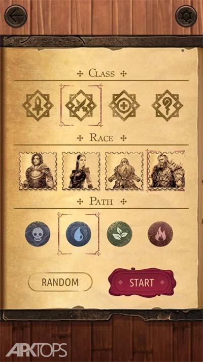 Spellsword Cards: Origins v1.73 دانلود بازی کارت های کلمات جادویی + مود اندروید