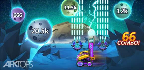 Meteor Blast -Space Shooter دانلود بازی انفجار شهاب سنگ