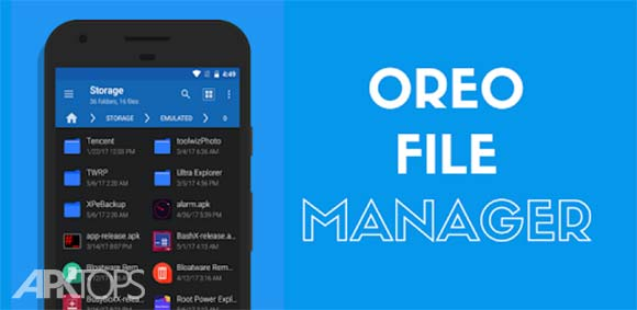 Oreo File Manager Pro [Root] دانلود برنامه مدیریت فایل پیشرفته اوریو