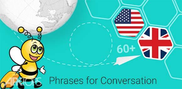 Speak English - 5000 Phrases & Sentences دانلود برنامه تمرین انگلیسی صحبت کردن
