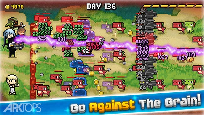 Days Bygone – Castle Defense v1.12.0 دانلود بازی روز های دیرین +مود اندروید