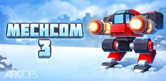 MechCom 3 - 3D RTS دانلود بازی استراتژیک مکام3