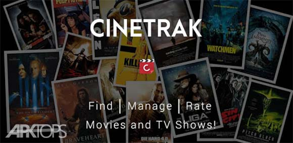 CineTrak: Your Movie and TV Show Diary دانلود برنامه نمایش اطلاعات فیلم ها و ایجاد لیست تماشا