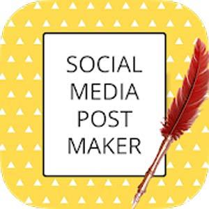 Social Media Post Maker, Planner & Graphic Design v18.0 دانلود برنامه طراحی پست و بنر گرافیکی برای شبکه های اجتماعی اندروید