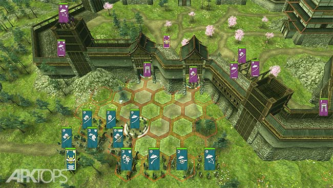 Shogun's Empire: Hex Commander v1.4 دانلود بازی پادشاهی شوگان اندروید