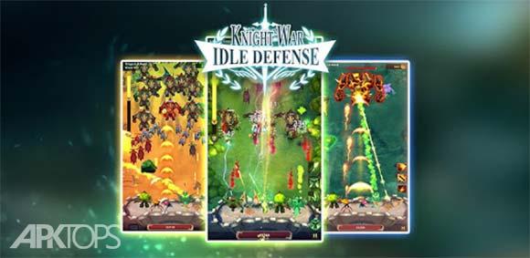 Knight War: Idle Defense دانلود بازی نبرد شوالیه