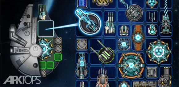 Space Arena: Build & Fight دانلود بازی عرشه فضایی