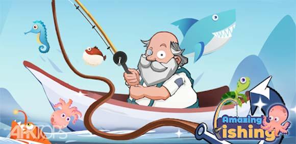 Amazing Fishing دانلود بازی ماهیگیری شگفت انگیز