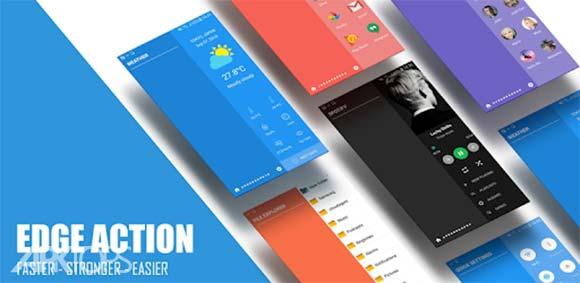 Edge Action: Edge Screen, Sidebar Launcher دانلود برنامه ابزار های لبه صفحه نمایش