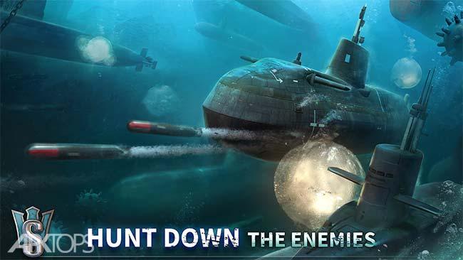 WORLD of SUBMARINES: Navy Shooter 3D War Game v1.1.1 دانلود بازی دنیای زیردریایی ها اندروید