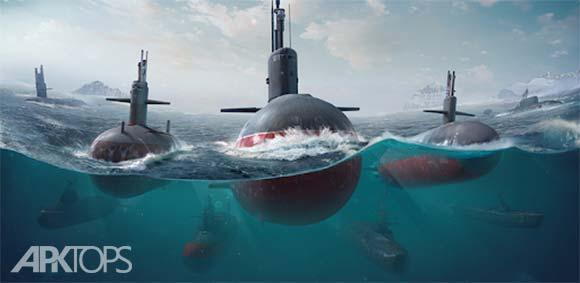 WORLD of SUBMARINES: Navy Shooter 3D War Game دانلود بازی دنیای زیردریایی ها