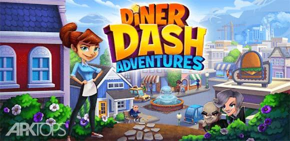 Diner DASH Adventures دانلود بازی ماجراجویی نهار