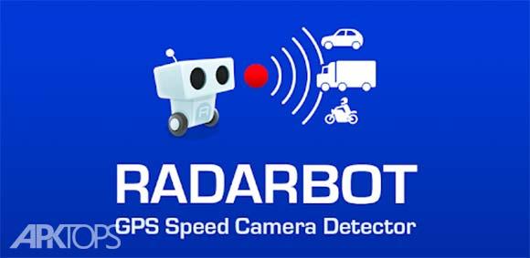 Radarbot : Speed Camera Detector & Speedometer دانلود برنامه تشخیص دوربین های پلیس در جاده