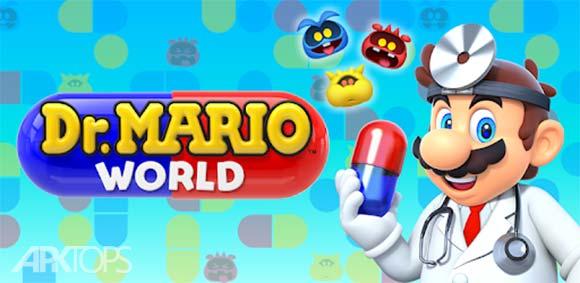 Dr. Mario World دانلود بازی دنیای دکتر ماریو